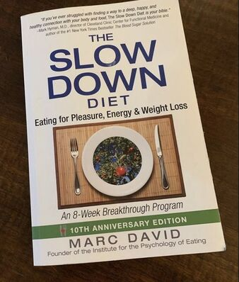 As a graduate of the Institute for the Psychology of Eating's Coach Certification program, I highly recommend Marc David's book